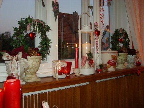 Weihnachtsdeko 'ieckes zimmer  '