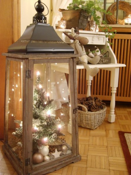 weihnachtsdeko 39 esszimmer weihnachtlich. Black Bedroom Furniture Sets. Home Design Ideas