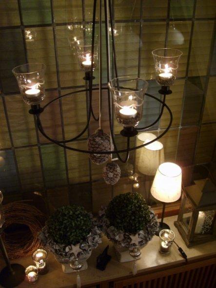 Weihnachtsdeko 'esszimmer weihnachtlich'