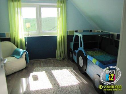 Kinderbett selber bauen traktor  Kinderzimmer 'Traktor-Baustellenzimmer' - MeinTraumhaus - Zimmerschau