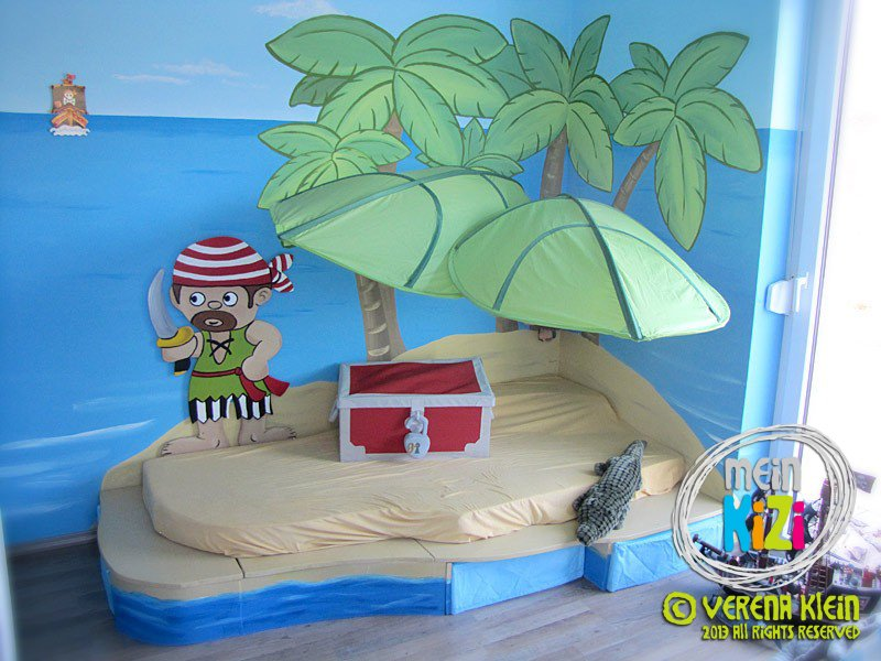 Kinderzimmer 39 piratenspielzimmer 39 meintraumhaus for Spielpodest kinderzimmer
