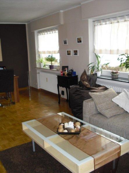 wohnzimmer 39 wohn und esszimmer 39 erste gemeinsame wohnung nun fast vollendet zimmerschau. Black Bedroom Furniture Sets. Home Design Ideas