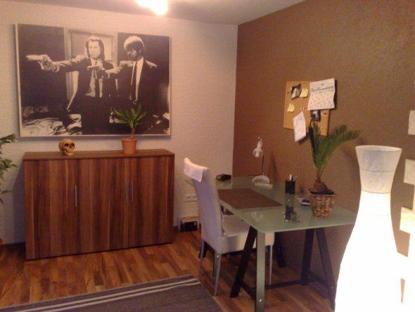 arbeitszimmer b ro 39 arbeiten und verstauen 39 mein kleines aber feines reich zimmerschau. Black Bedroom Furniture Sets. Home Design Ideas