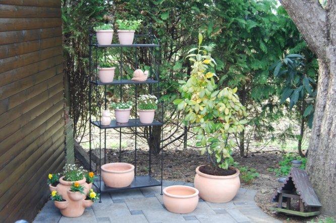 ein wenig neue Deko im Garten