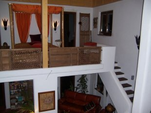 Schlafbereich/Wohnzimmer