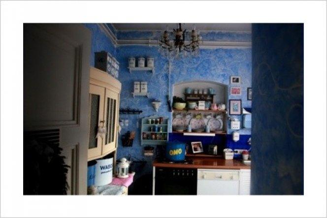 Küche 'BlaueKüche'
