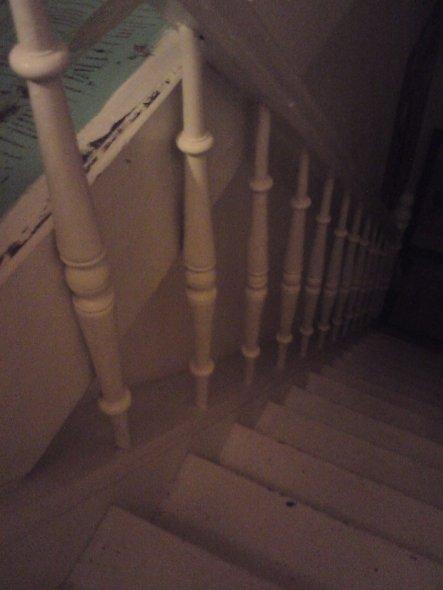 Arbeitszimmer / Büro 'Treppenaufgang'