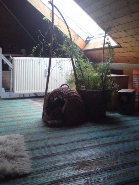 Wohnzimmer 39 lounge 39 chat noir zimmerschau - Wohnzimmer lounge ...