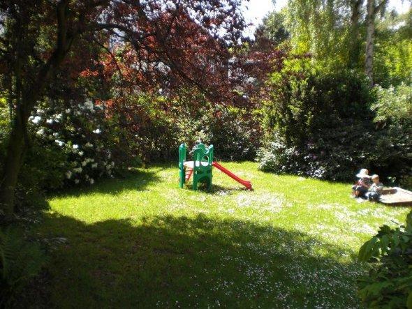 So sah der Garten aus bevor wir umgebaut haben.