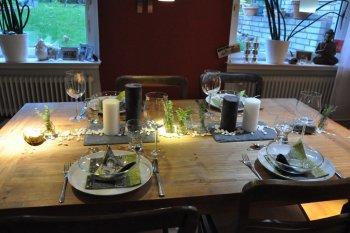 Esszimmer 'Gedeckter Tisch'