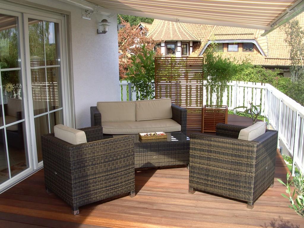 terrasse balkon 39 balkon 39 unser domizil zimmerschau. Black Bedroom Furniture Sets. Home Design Ideas