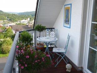 Balkon im Giebel