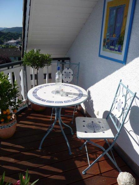 Terrasse / Balkon 'Balkon im Giebel'