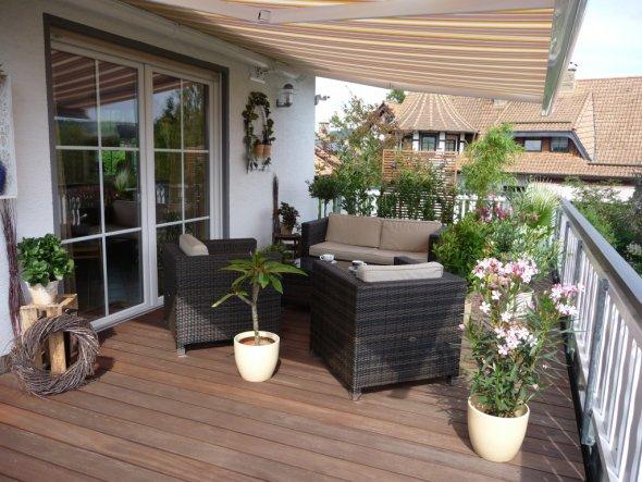 Terrasse / Balkon: Ideen Zur Gestaltung - Zimmerschau Ideen Mobel Deko Terrasse Und Balkon