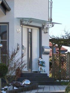 Hausfassade / Außenansichten 'Unser Eingang'