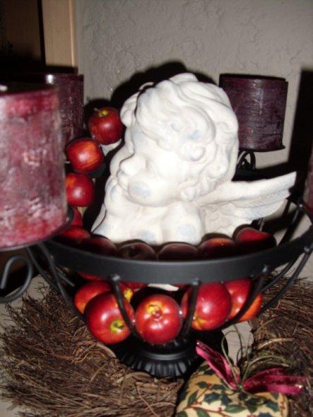 Weihnachtsdeko 'Warten auf den Weihnachtsmann'