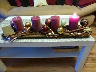 Wohnzimmer 2015 Weihnachten