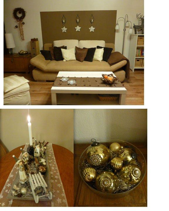 weihnachtsdeko 39 wohnzimmer weihnachten 2014 39 meeresbrise. Black Bedroom Furniture Sets. Home Design Ideas