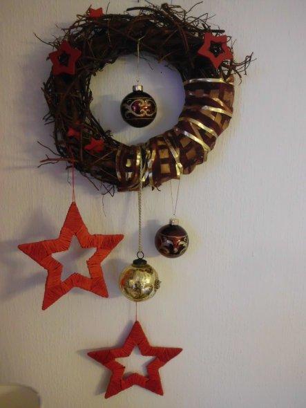 Weihnachtsdeko 'Wohnzimmer Weihnachten 2014'