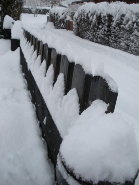 Garten ' Winterlandschaft'