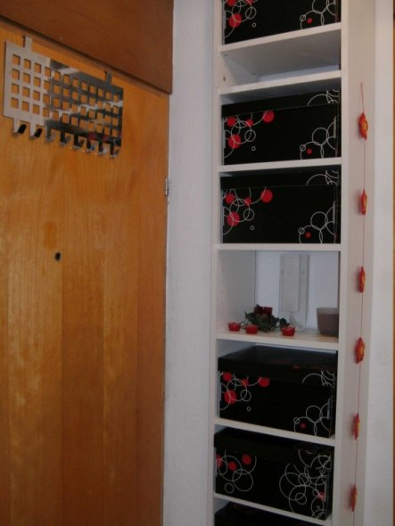 flur diele 39 eingang garderobe 39 unser zuhause zimmerschau. Black Bedroom Furniture Sets. Home Design Ideas