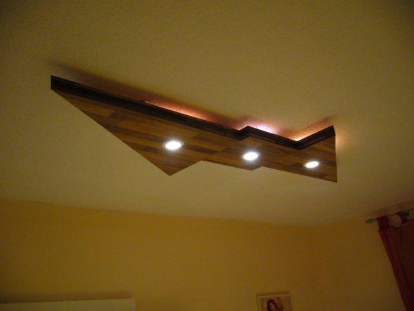 deko 39 lichtmodul decke 39 mein domizil zimmerschau. Black Bedroom Furniture Sets. Home Design Ideas
