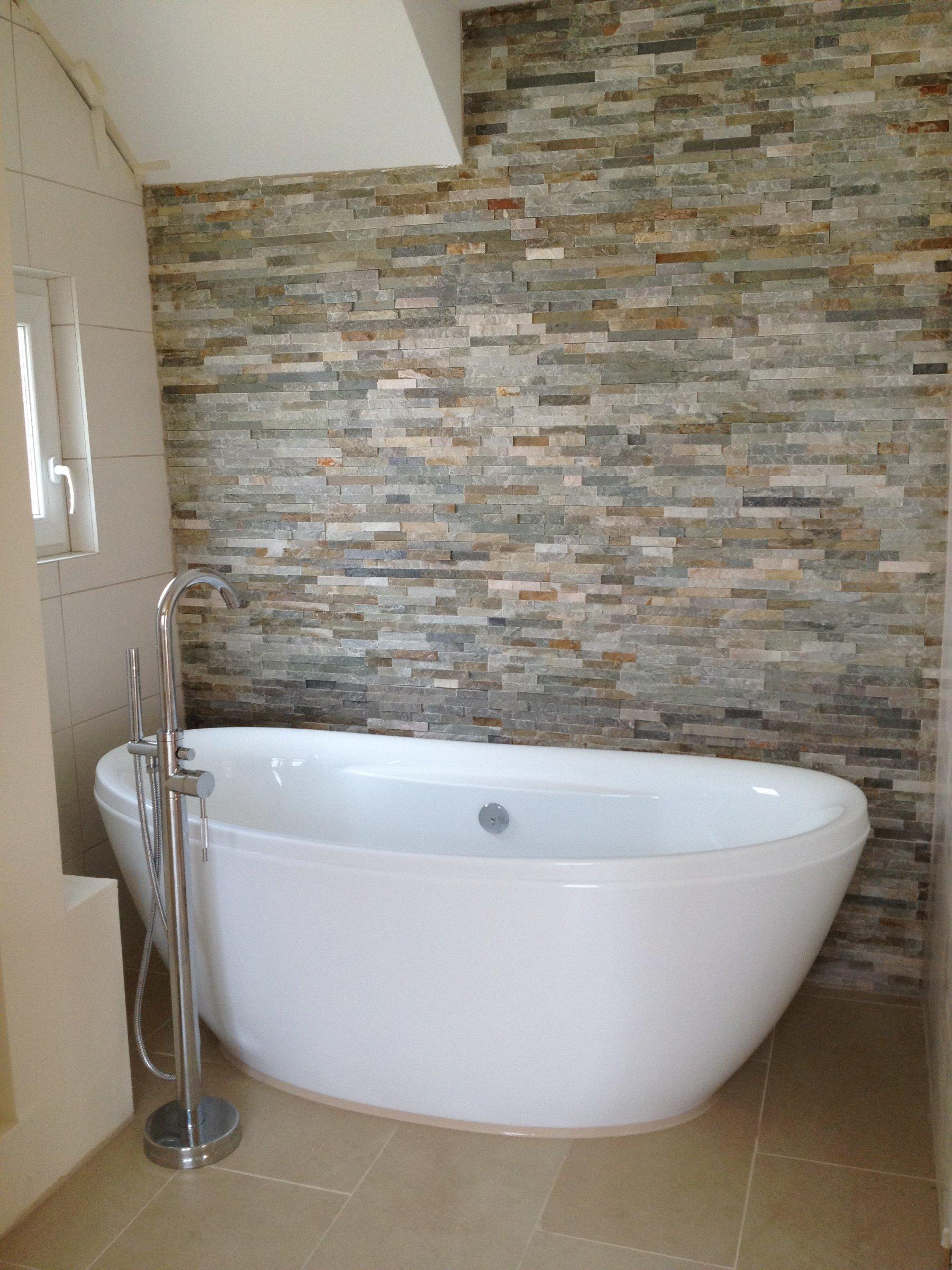 natursteinwand im bad von zimmerschauerin sonnenblume1 - Natursteinwand Badezimmer