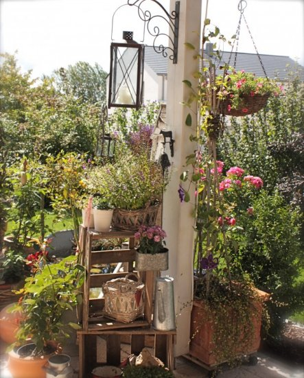 Terrasse balkon 39 terrasse mit pizzaofen 39 luana s home for Dekoration terrasse