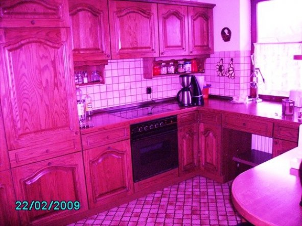 Diese häßliche Küche soll hell werden!