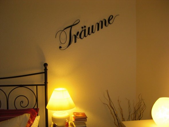 Schlafzimmer 'Where Dreams come true...'