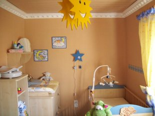 Kinderzimmer 39 traktor baustellenzimmer 39 meintraumhaus zimmerschau - Babyzimmer skandinavisch ...