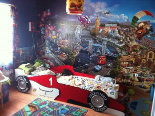 Toms Kinderzimmer