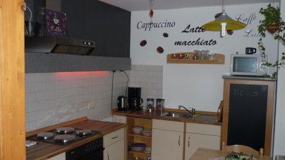 Wohzimmer und Küche