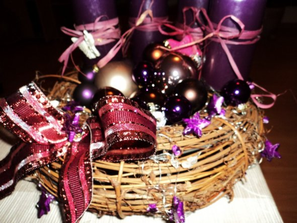 Weihnachtsdeko 'x-mas 2010'