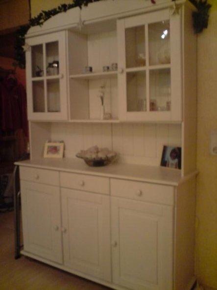 Tipp U0027Landhausmöbel Weiß Streichenu0027. Mein Esszimmerschrank ...