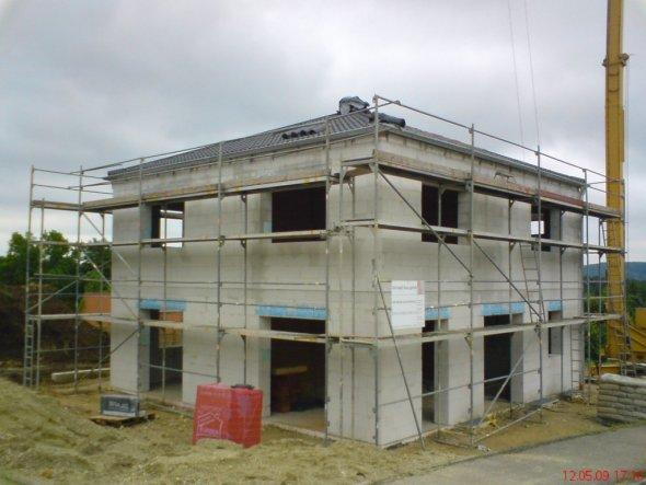Hausfassade / Außenansichten 'Rohbau'