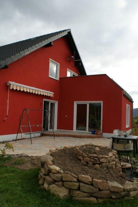 Hausfassade / Außenansichten 'Unser Häuschen u Garten'