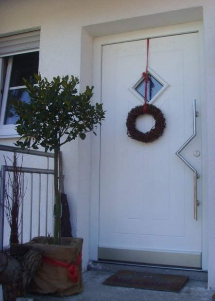 Hausfassade / Außenansichten 'Entree außen'