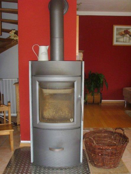 Das ist unser heißer Ofen.