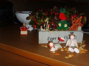 Weihnachten drinnen