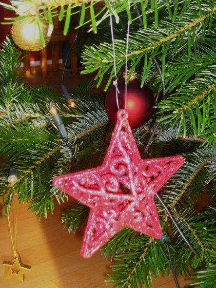 Weihnachtsdeko 'Weihnachten drinnen'