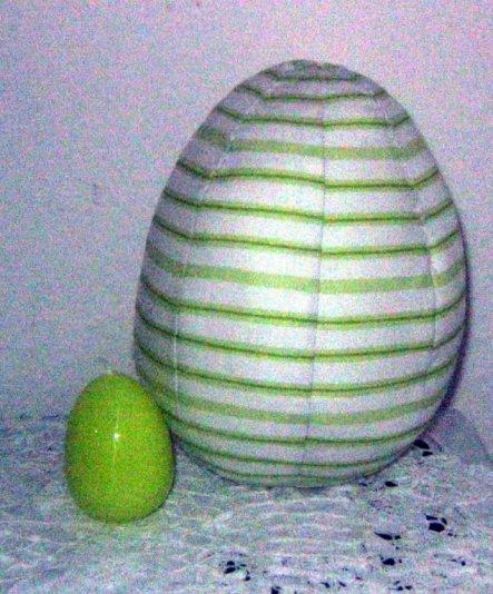 Osterdeko 'Ostern 2009'