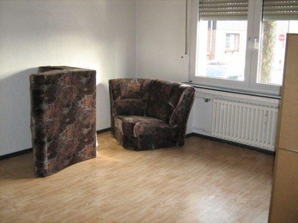 Wohnzimmer 'Vorher ..'
