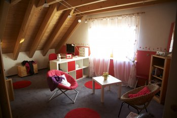Teenie-Mädchenzimmer
