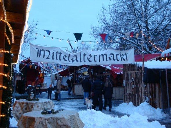 Weihnachtsdeko 'Weihnachtsmarkt'