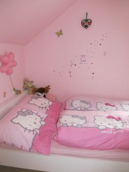 kinderzimmer 39 eva 39 s rosa traum 39 tief im nirgendwo. Black Bedroom Furniture Sets. Home Design Ideas