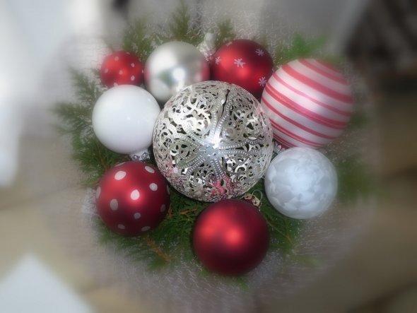 Weihnachtsdeko 'Weihnachten 2011'