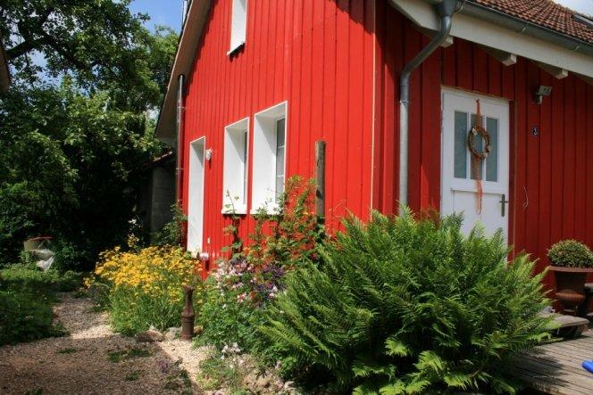 Hausfassade / Außenansichten 'Schwedenhäuschen'