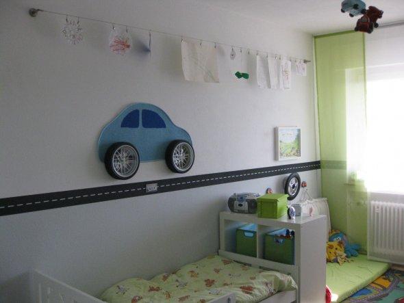 Kinderzimmer 39 autozimmer 39 home sweet home zimmerschau for Jugendzimmer junge wandgestaltung