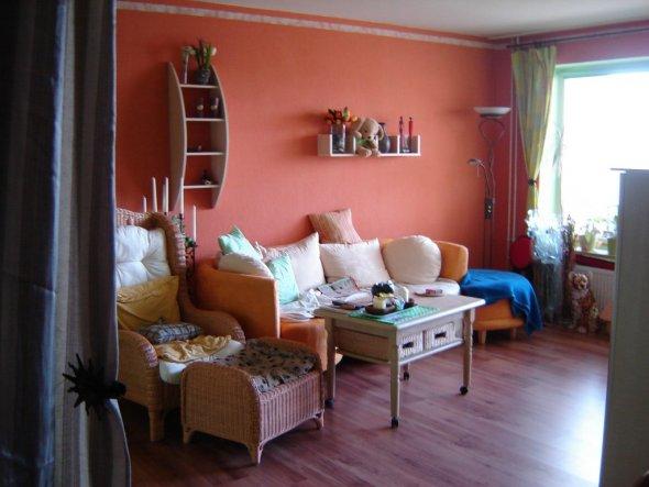 Bild Wohnzimmer Bunt : Wohnzimmer alt neu im hohen norden zimmerschau